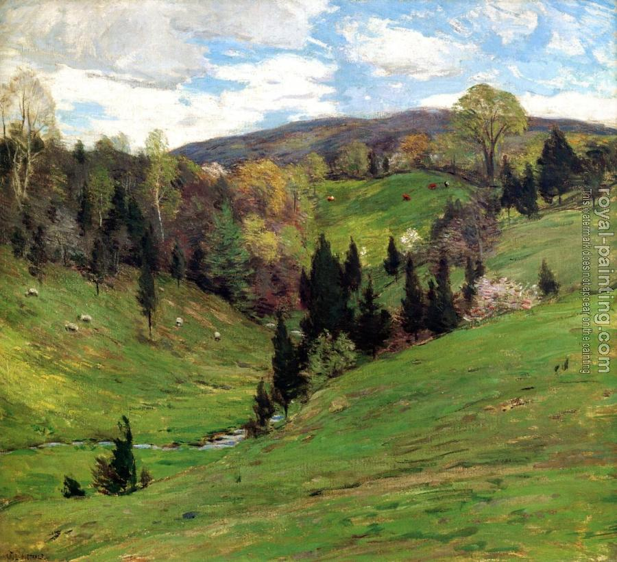 Willard Leroy Metcalf : Flying Shadows2